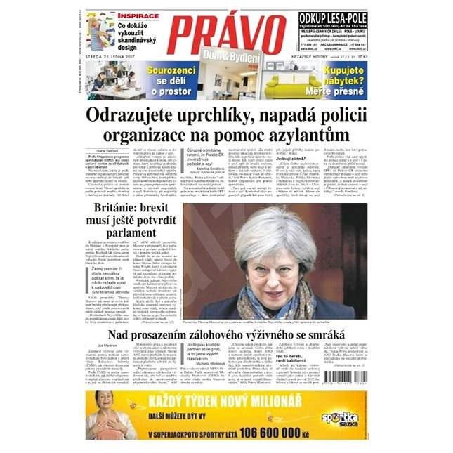 Právo - 25-01-2017 - Elektronické noviny