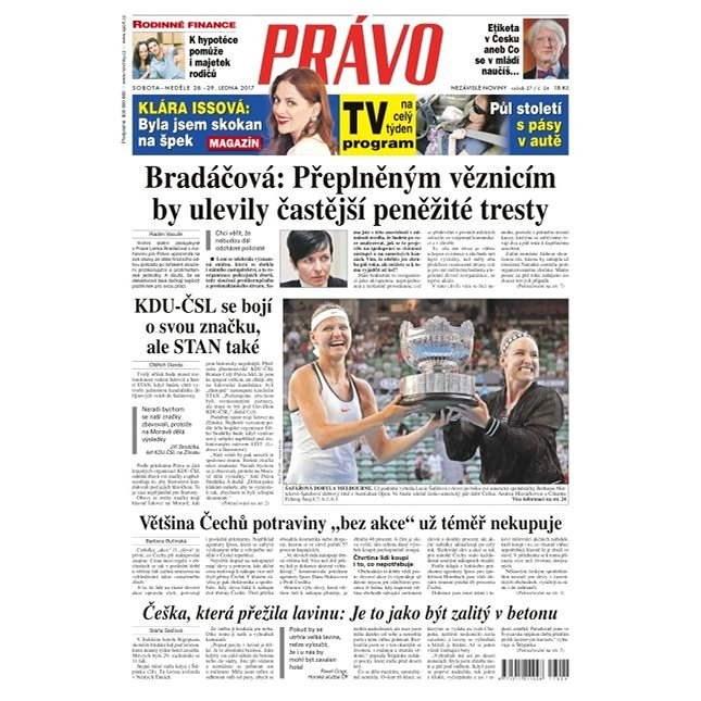 Právo - 28-01-2017 - Elektronické noviny