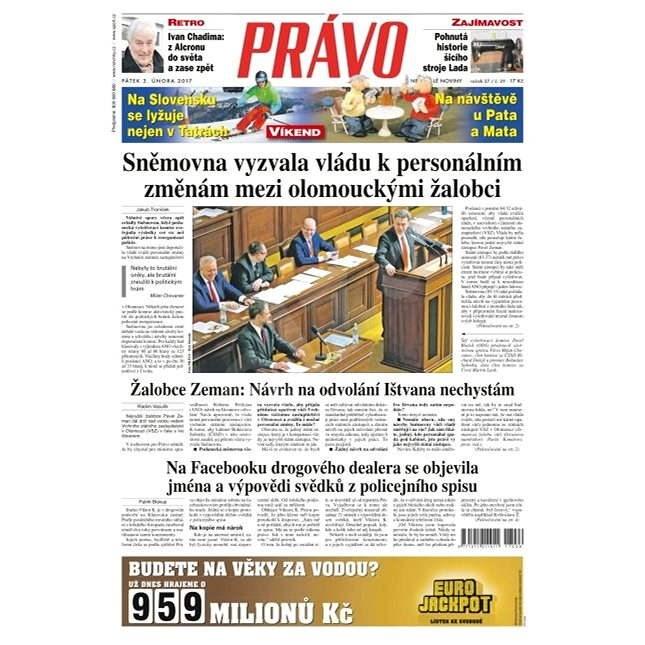 Právo - 03-02-2017 - Elektronické noviny