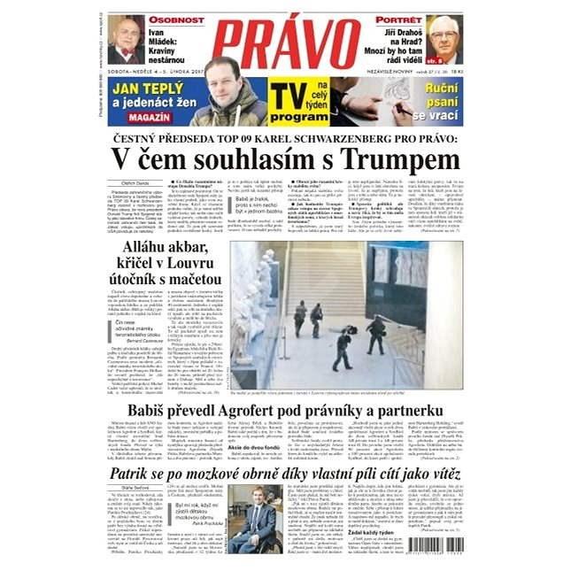 Právo - 04-02-2017 - Elektronické noviny