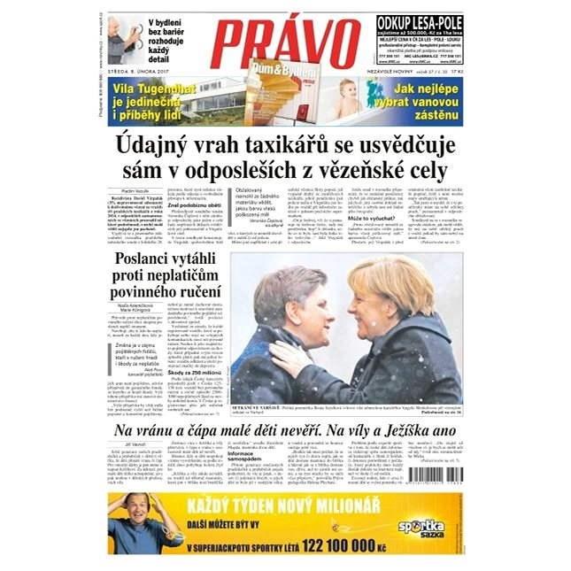 Právo - 08-02-2017 - Elektronické noviny