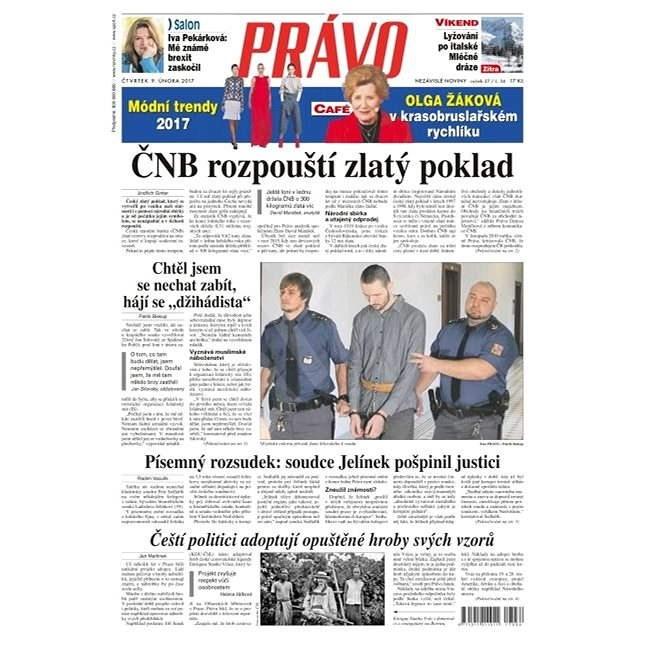 Právo - 09-02-2017 - Elektronické noviny