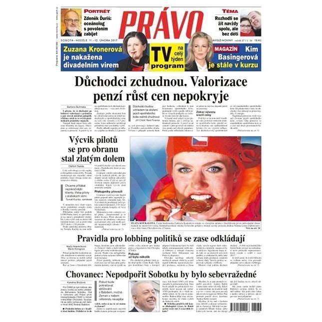 Právo - 11-02-2017 - Elektronické noviny