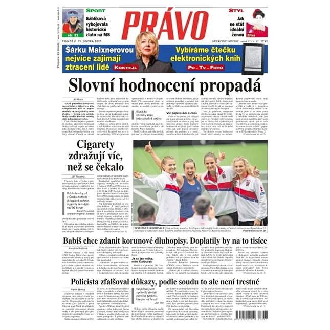 Právo - 13-02-2017 - Elektronické noviny