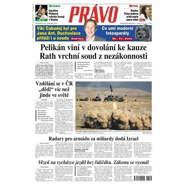 Právo - 20-02-2017 - Elektronické noviny