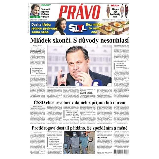 Právo - 21-02-2017 - Elektronické noviny