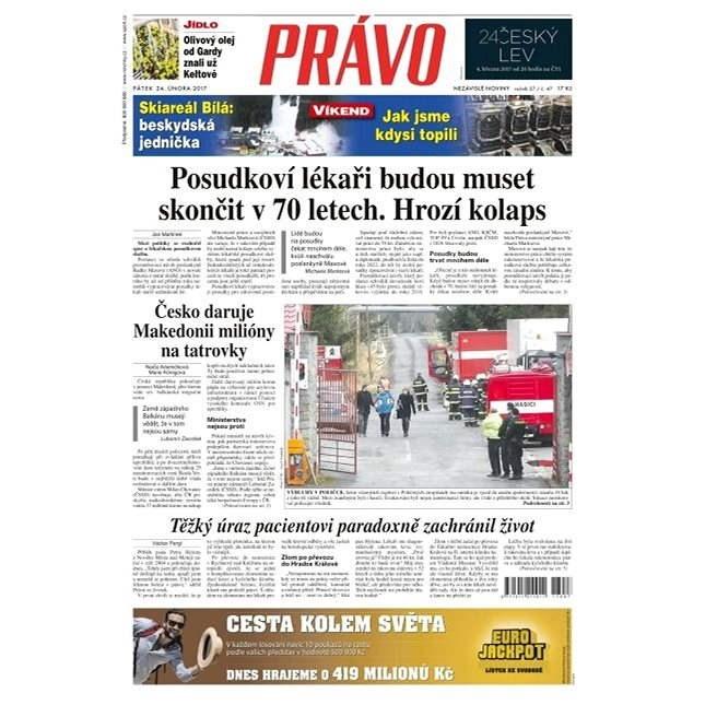 Právo - 24-02-2017 - Elektronické noviny