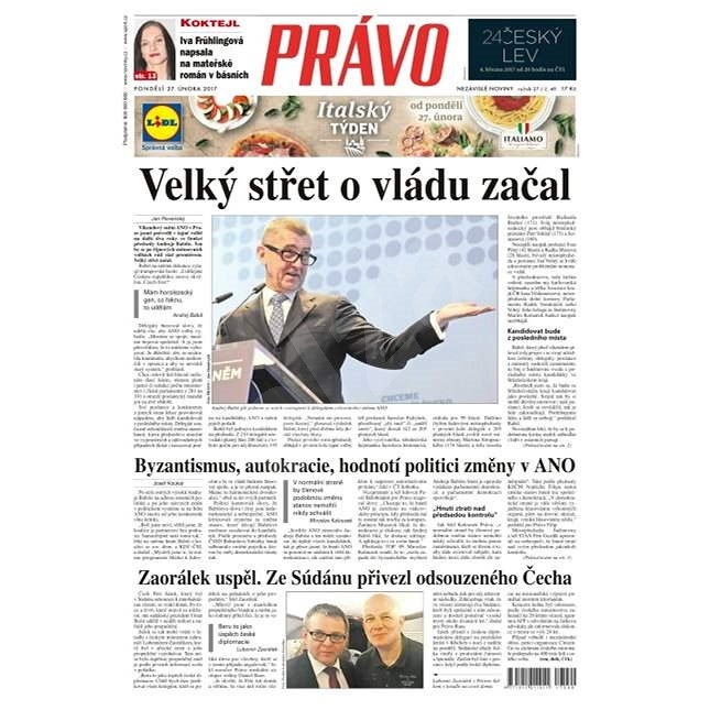 Právo - 27-02-2017 - Elektronické noviny