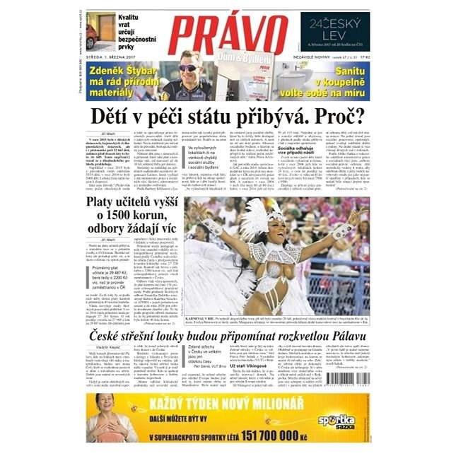 Právo - 01-03-2017 - Elektronické noviny