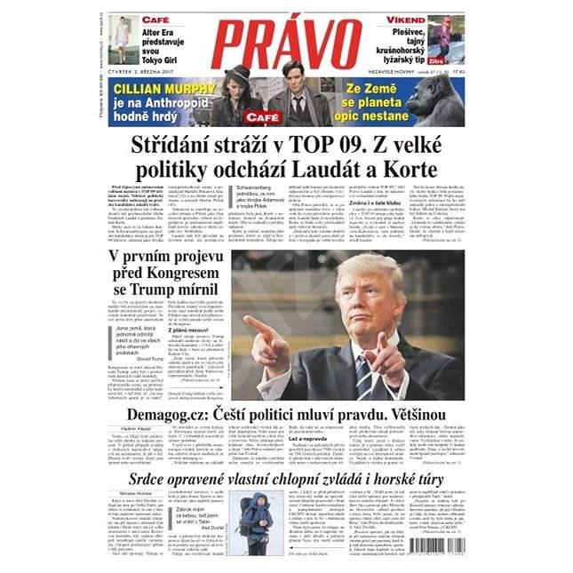 Právo - 02-03-2017 - Elektronické noviny