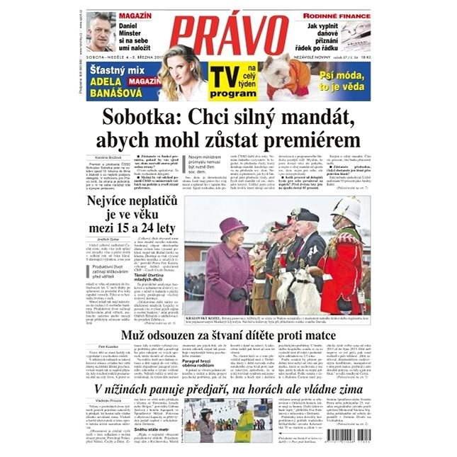 Právo - 04-03-2017 - Elektronické noviny