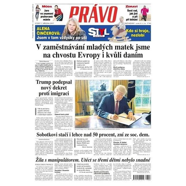 Právo - 07-03-2017 - Elektronické noviny
