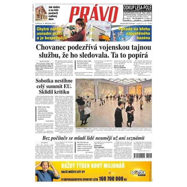 Právo - 08-03-2017 - Elektronické noviny