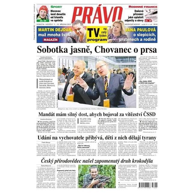 Právo - 11-03-2017 - Elektronické noviny