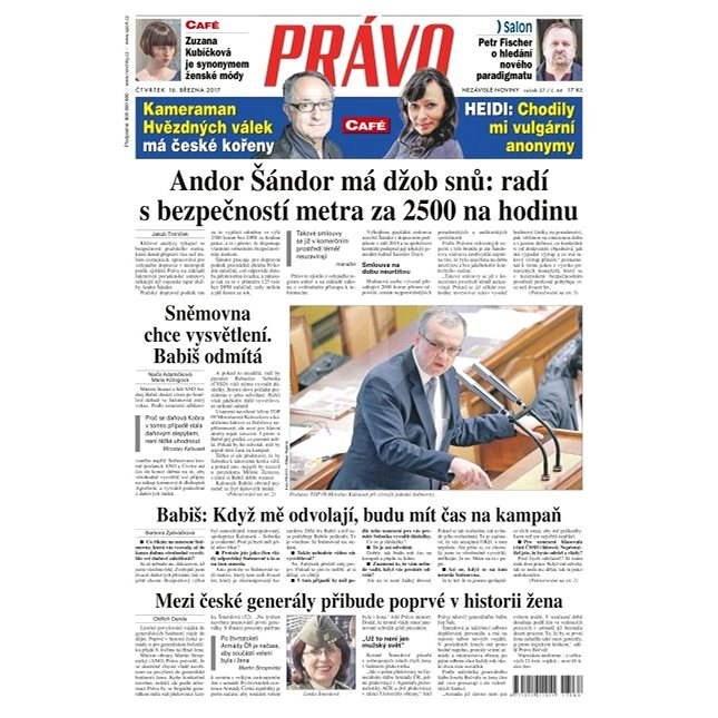 Právo - 16-03-2017 - Elektronické noviny