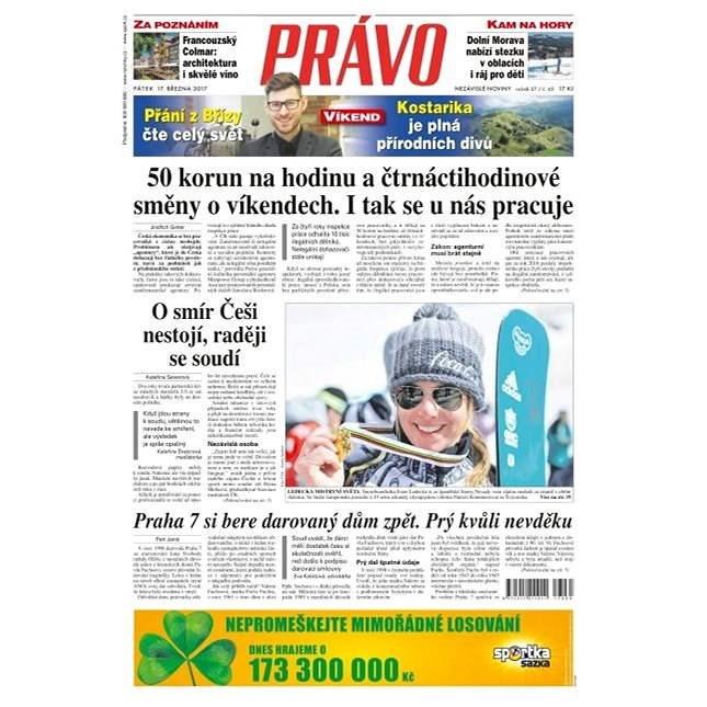 Právo - 17-03-2017 - Elektronické noviny