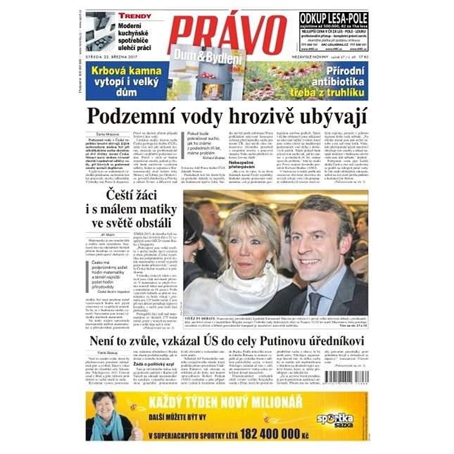 Právo - 22-03-2017 - Elektronické noviny