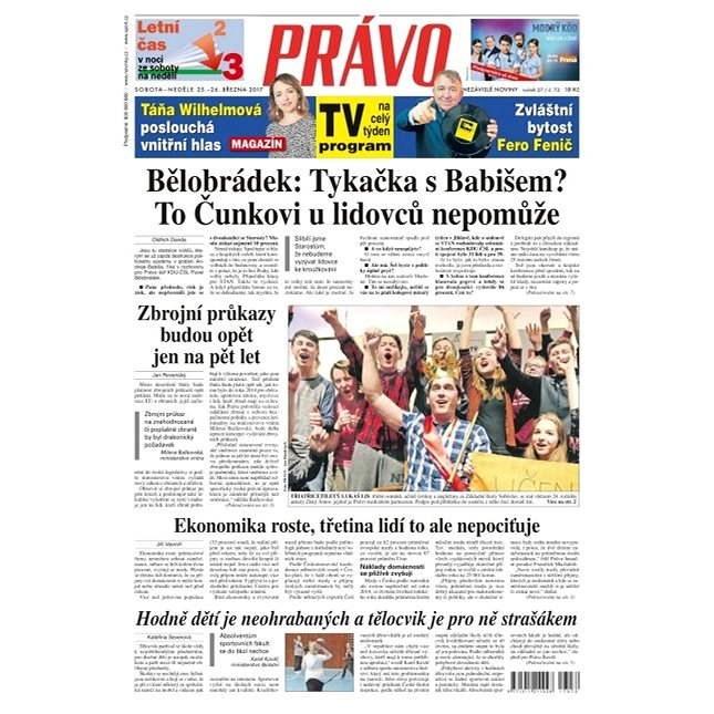 Právo - 25-03-2017 - Elektronické noviny