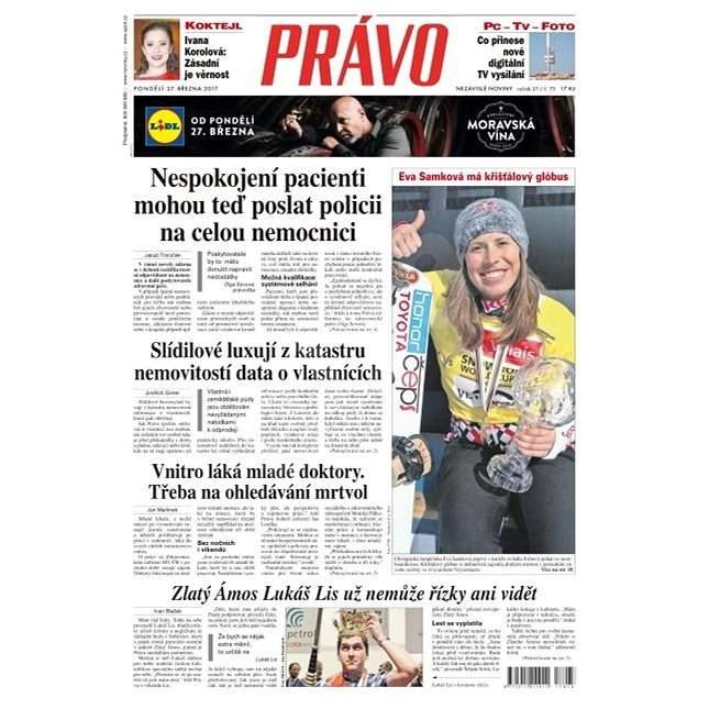 Právo - 27-03-2017 - Elektronické noviny