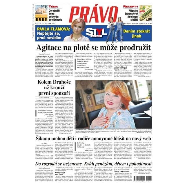 Právo - 28-03-2017 - Elektronické noviny