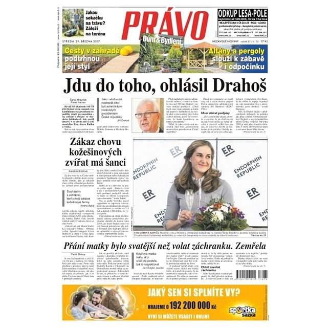 Právo - 29-03-2017 - Elektronické noviny