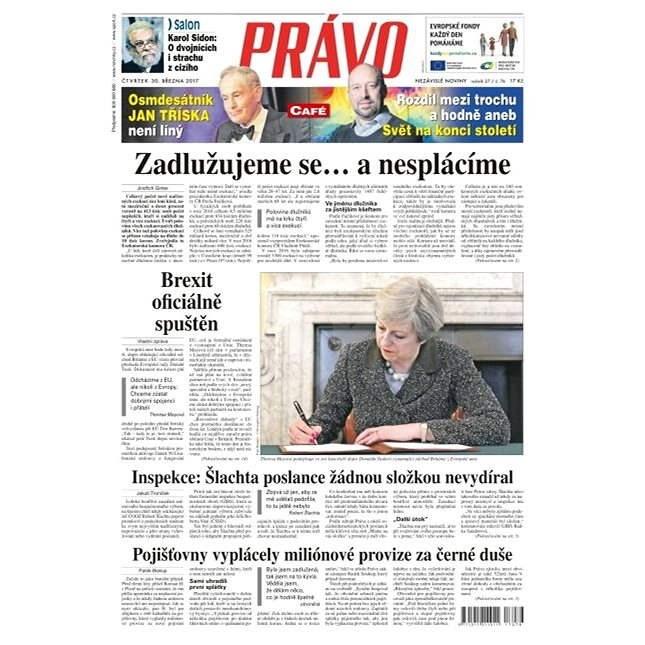 Právo - 30-03-2017 - Elektronické noviny