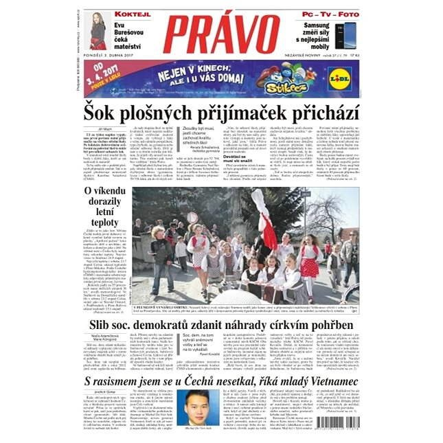 Právo - 03-04-2017 - Elektronické noviny