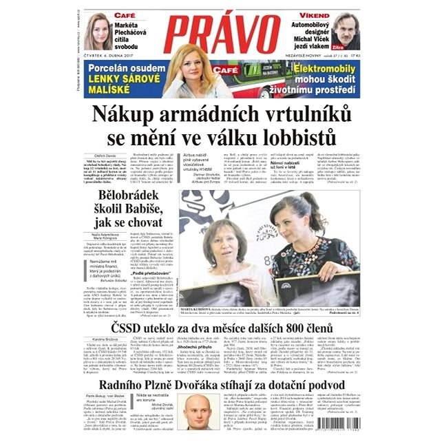 Právo - 06-04-2017 - Elektronické noviny