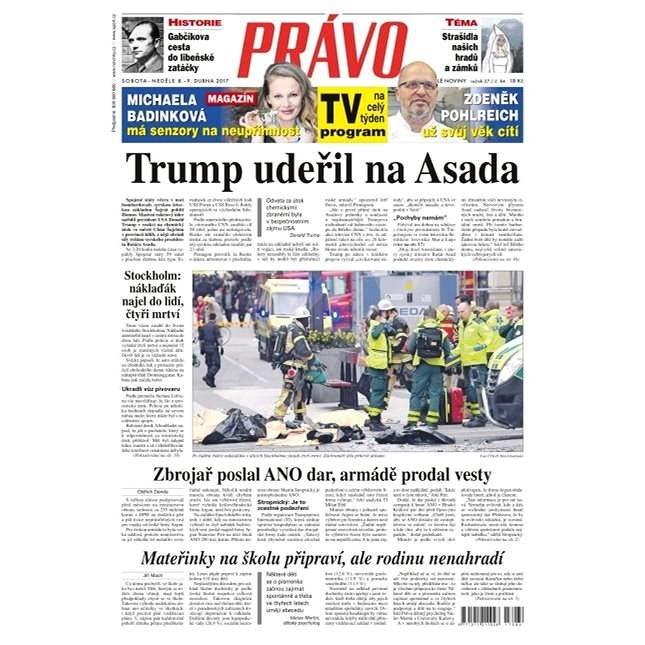 Právo - 08-04-2017 - Elektronické noviny