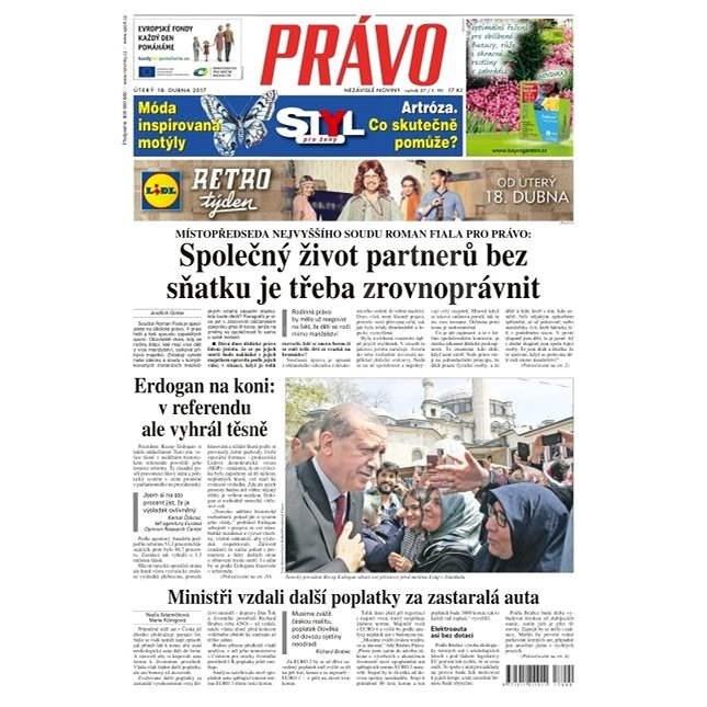 Právo - 18-04-2017 - Elektronické noviny