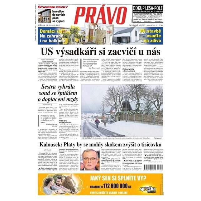 Právo - 19-04-2017 - Elektronické noviny