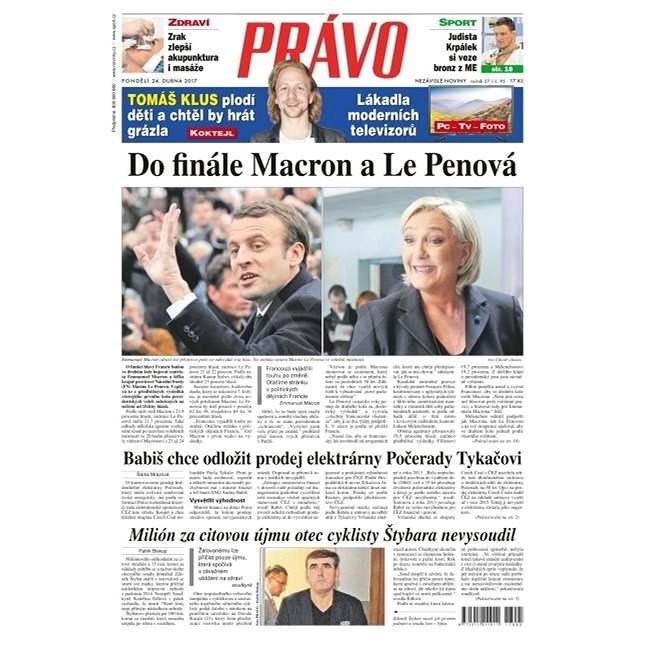 Právo - 24-04-2017 - Elektronické noviny