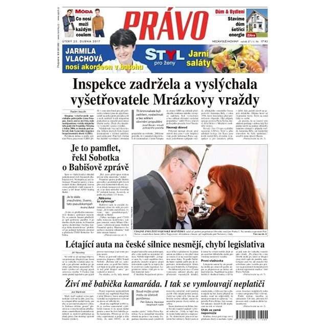 Právo - 25-04-2017 - Elektronické noviny
