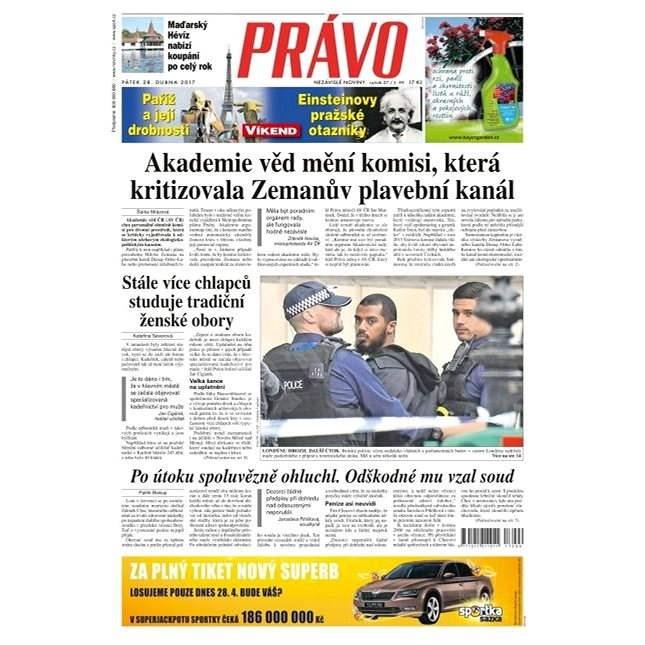 Právo - 28-04-2017 - Elektronické noviny