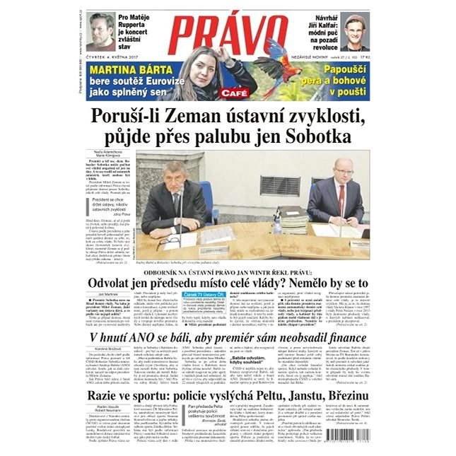 Právo - 04-05-2017 - Elektronické noviny