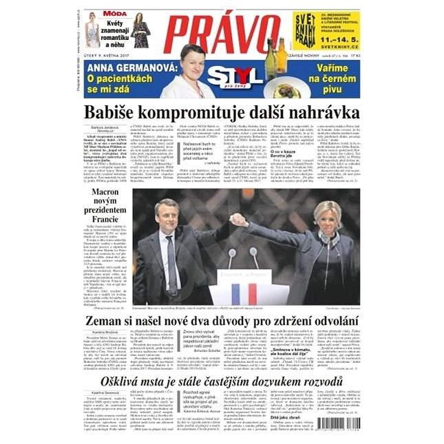 Právo - 09-05-2017 - Elektronické noviny