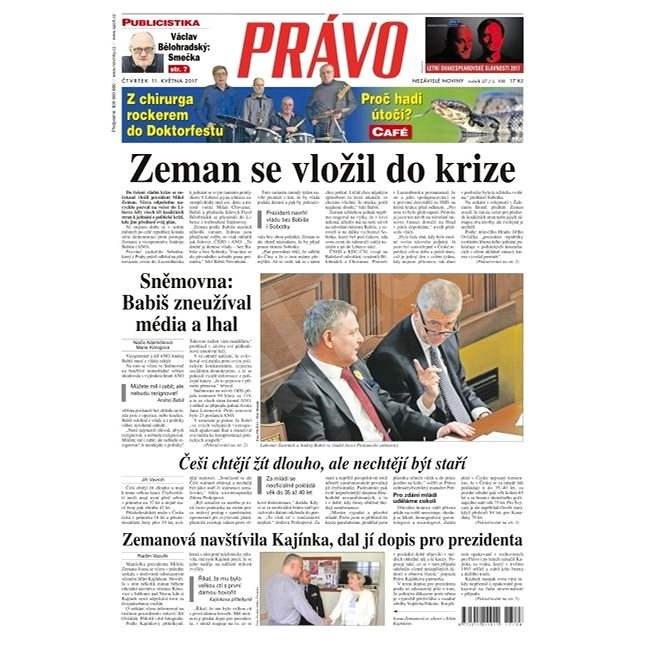 Právo - 11-05-2017 - Elektronické noviny