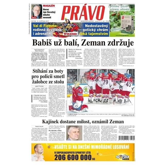 Právo - 12-05-2017 - Elektronické noviny