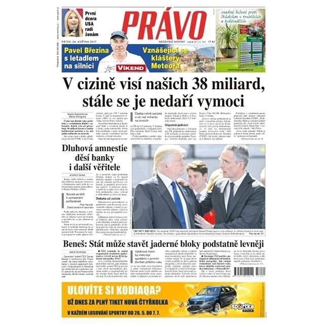 Právo - 26-05-2017 - Elektronické noviny