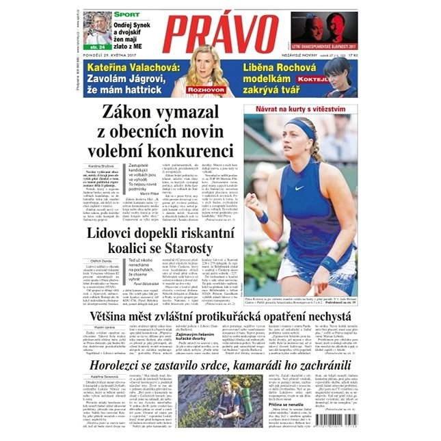 Právo - 29-05-2017 - Elektronické noviny