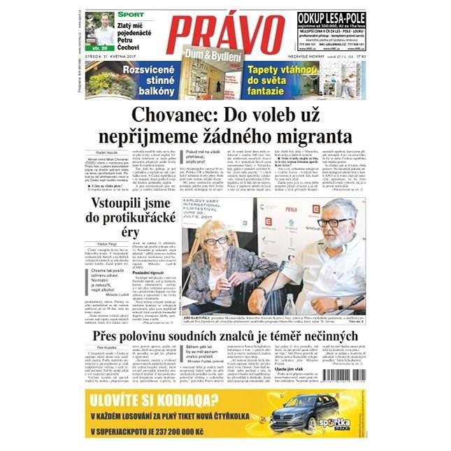 Právo - 31-05-2017 - Elektronické noviny
