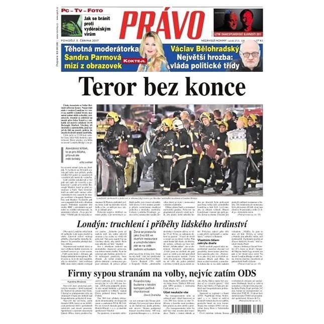 Právo - 05-06-2017 - Elektronické noviny