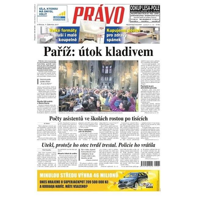 Právo - 07-06-2017 - Elektronické noviny