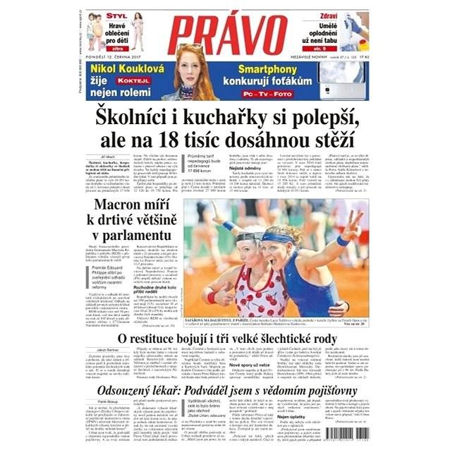 Právo - 12-06-2017 - Elektronické noviny
