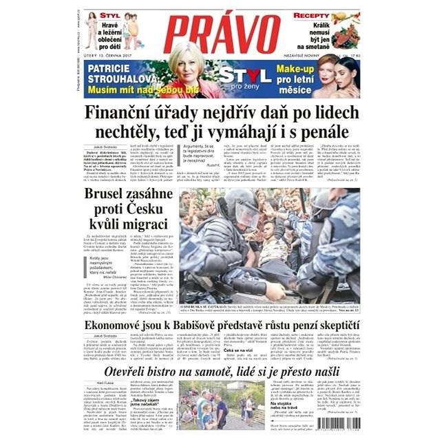 Právo - 13-06-2017 - Elektronické noviny