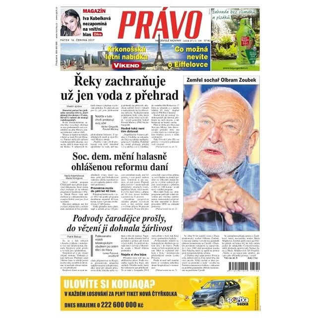 Právo - 16-06-2017 - Elektronické noviny