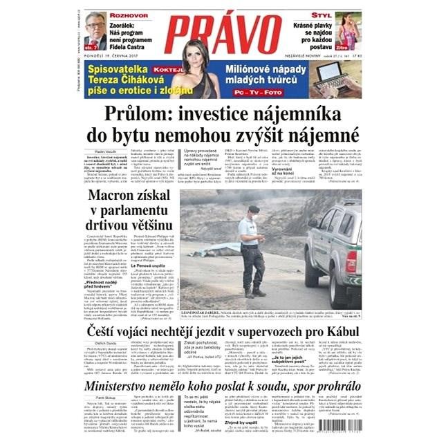 Právo - 19-06-2017 - Elektronické noviny