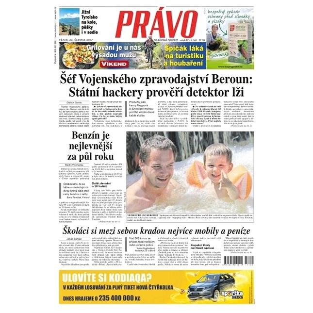 Právo - 23-06-2017 - Elektronické noviny