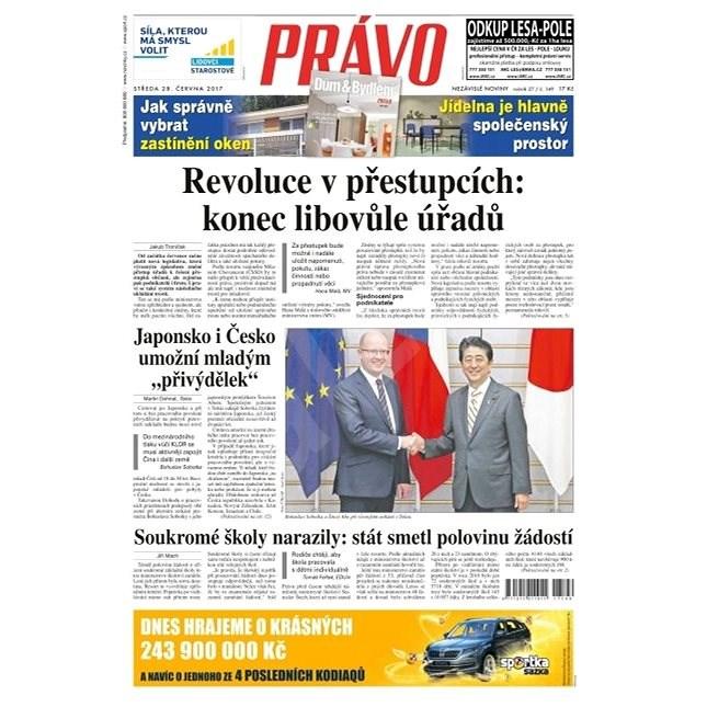 Právo - 28-06-2017 - Elektronické noviny
