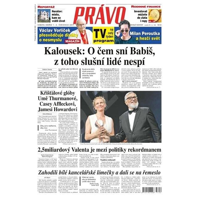 Právo - 01-07-2017 - Elektronické noviny